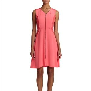 Elie tahari bright pink dress